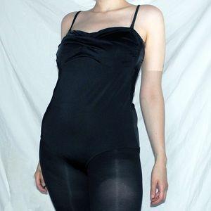 Black Joe Fresh vintage-inspired bathing suit L